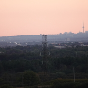 Skyline just after Sunset from Harmony Rd., North, Oshawa
