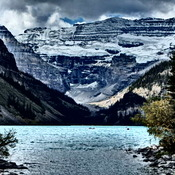 Autumn Lake Louise Parks Canada