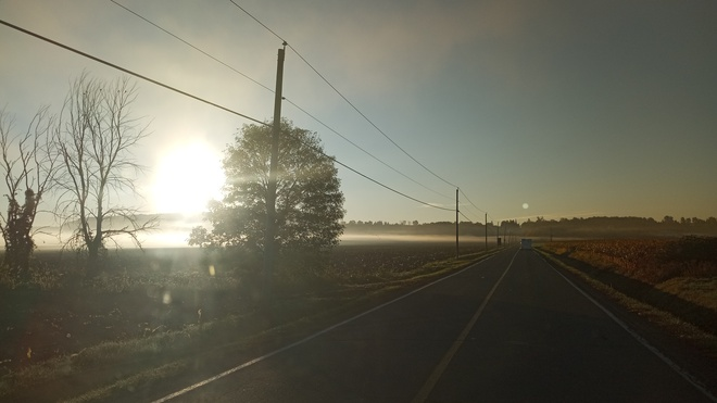 Brouillard au rendez-vous Saint-Joseph-du-Lac, QC