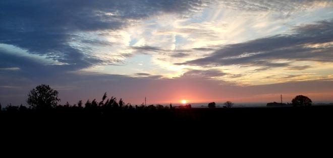 Levé du soleil Saint-Félix-de-Valois, QC
