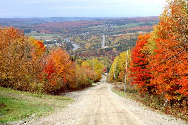 La fantasmagorie automnale du mont La Crapaudière Québec, QC