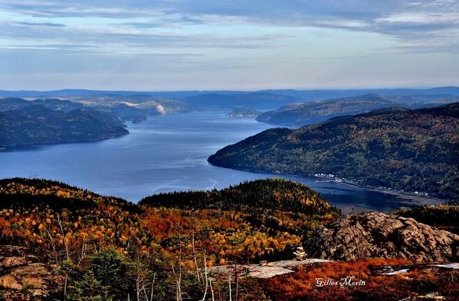 Couleur d'automne. Saguenay, QC