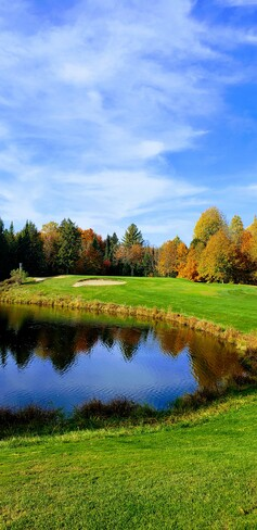 golf L'oasis. Village-de-la-Chute, QC