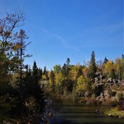 Pinawa Channel in Autumn