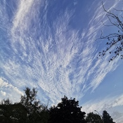 Stretched sky