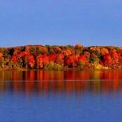 St. Lawrence River at Long Sault Ontario