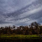 October Mammatus Clouds
