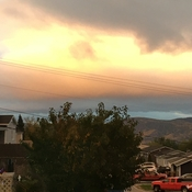 Sunset in Corner Brook. Taken by Bun Russell