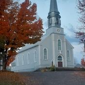 mon église en automne