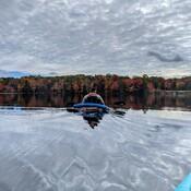 Mackerel skies and fall colours