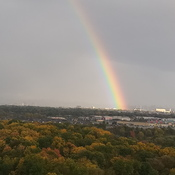 Rainbow is a nice way to end the day