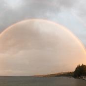 Double rainbow Barrie