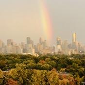 Cityscape Rainbow