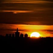 Oct 16 sunset