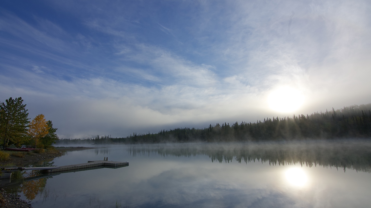 Boya Lake Sunrise