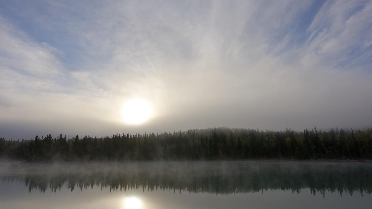Boya Lake Sunrise II