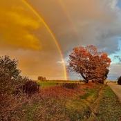 Double Rainbow Caught Fergus ONT