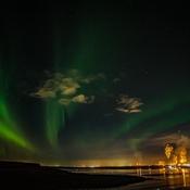 Northern Lights over Syncrude