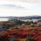 Fall foliage overlooking Peggy's Cove, Nova Scotia