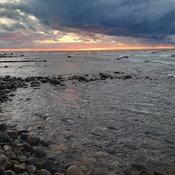 October Sunset on Lake Huron