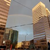 Beautiful Rainbow - Good Morning Toronto!
