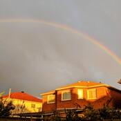 rainbow@8:15a.m. in Thornhill