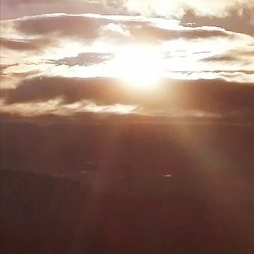 coucher soleil lac temiscouata