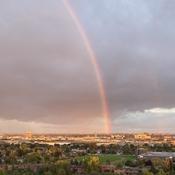 Rainbow over Etobicoke