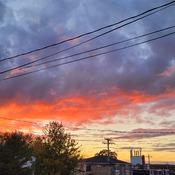 East Coast Fall Sunset