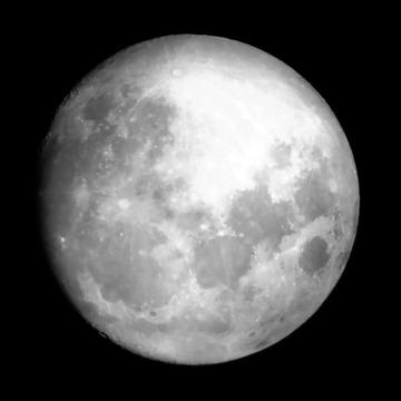 96% full moon