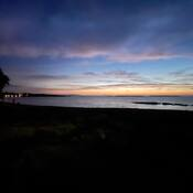 2021-10-19 - Sunrise on a morning walk at Willows Beach (Victoria BC)