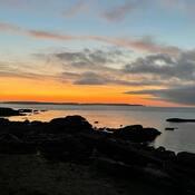 2021-10-19 - Sunrise at Willows Beach (Victoria BC)