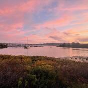 2021-10-19 - An autumn sunrise at Willows Beach (Victoria BC)