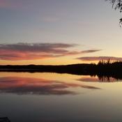 lac Vanel sur les Monts Valin