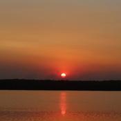 Sunset over Rossman, Lake Manitoba