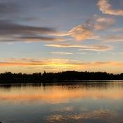 Oak Lake Sunset
