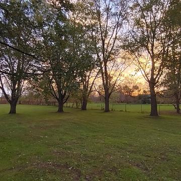 Fall Morning Sunrise