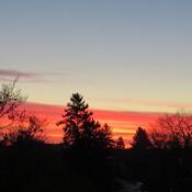 Red Hot Dawn at -6