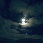 Beaver/Hunter Moon in Corner Brook, by Bun Russell
