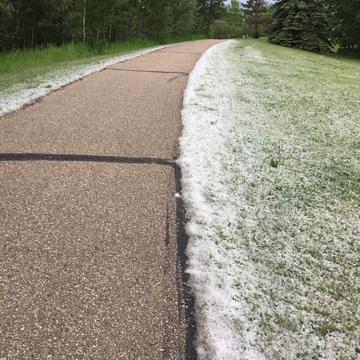 Looks like snow