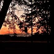 Sunset extraordinaire!