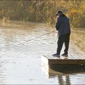 Fishing, Elliot Lake.
