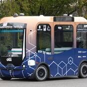 Autonomous mini bus pilot project in Whitby