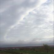 Formation de nuages étranges