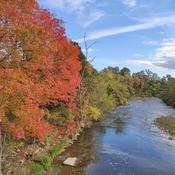River walk in the Fall