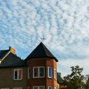 Oct 23 2021 Big sky vs small plane! Happy Saturday:) Late Autumn in Thornhill