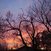 Sunset in Grande Prairie, Alberta