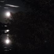 Moon Over Chemong Lake