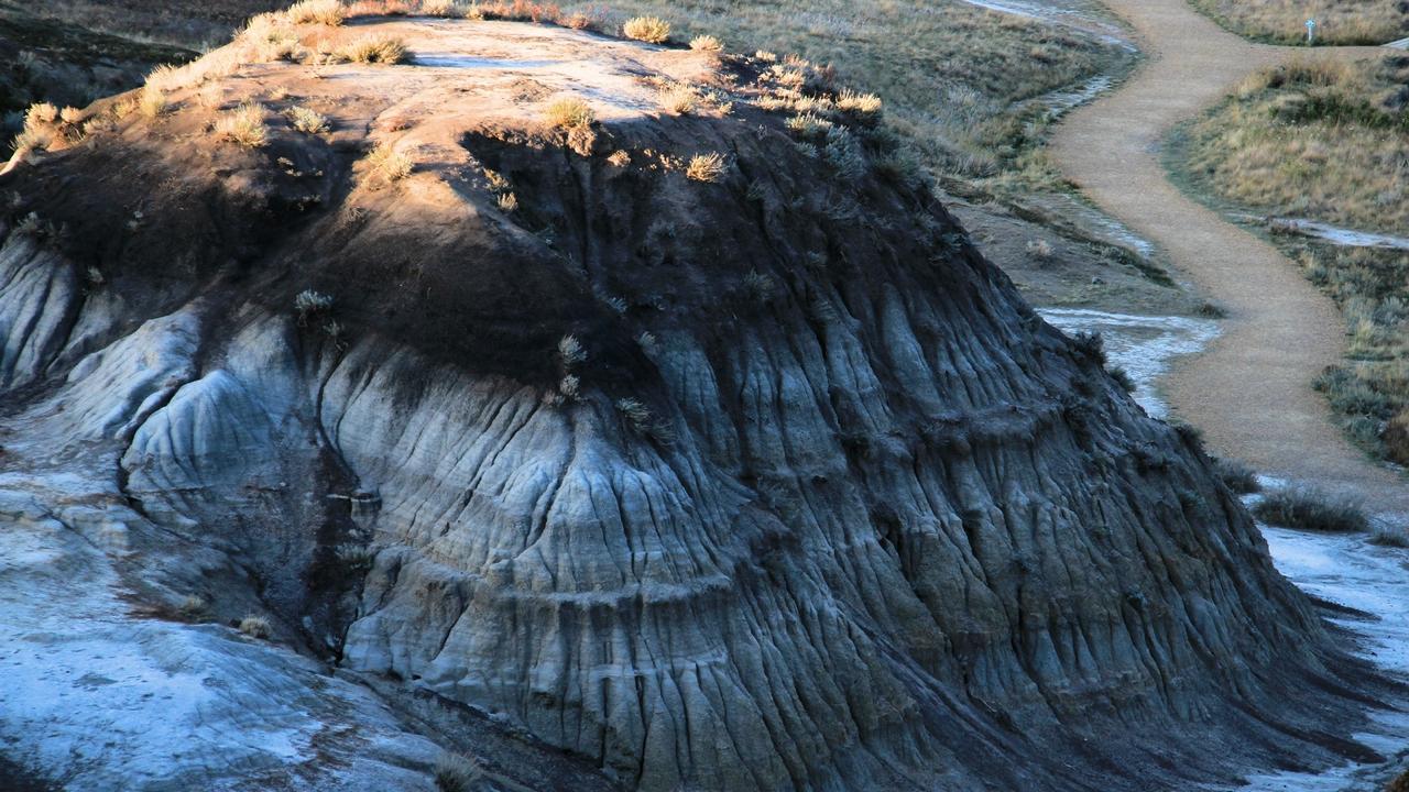 Land of millions years at Horseshoe canyon