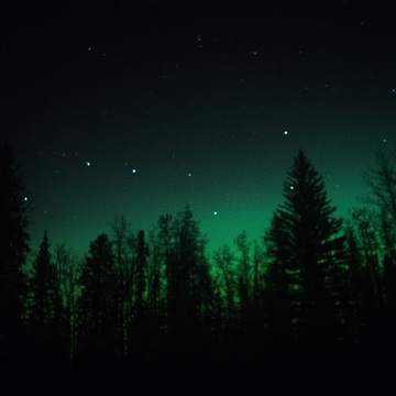 Big Dipper in Aurora